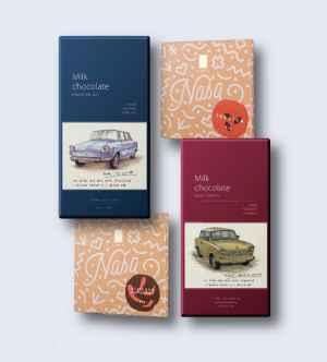Čokoláda Lyra - dárek k předplatnému časopisu Týdeník Rozhlas