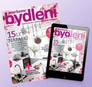 BD1804_K (494,-/11 čísel) - dárek k předplatnému časopisu Marianne Bydlení