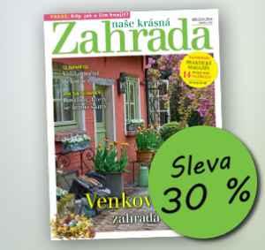 NKZ18VEL (459,-/12 čísel) - dárek k předplatnému časopisu Naše krásná zahrada