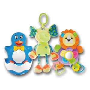 MAM 0418 - 3 hračky Baby´s - dárek k předplatnému časopisu Maminka
