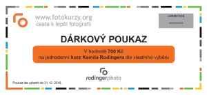 Kurz Kamila Rodingera - dárek k předplatnému časopisu Foto Video