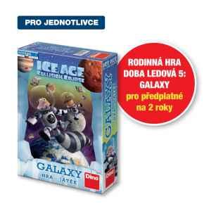 Hra Doba ledová 5 - dárek k předplatnému časopisu Pastelka