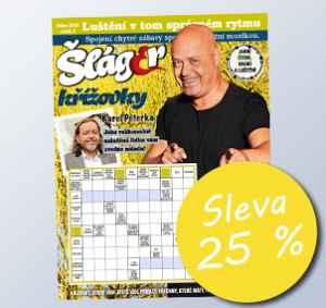 SLA1804 (179,-/12 čísel) - dárek k předplatnému časopisu Křížovky se Šlágr TV