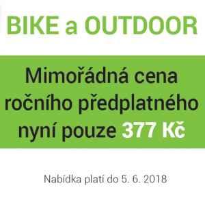 Mimořádná cena - dárek k předplatnému časopisu Active Sport - Bike/Outdoor