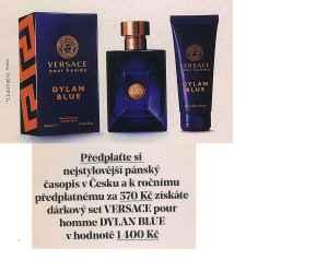 Dárkový set Versace - dárek k předplatnému časopisu Muži v Česku