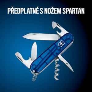 FM  0418 - Otev. Nůž Spartan - dárek k předplatnému časopisu ForMen