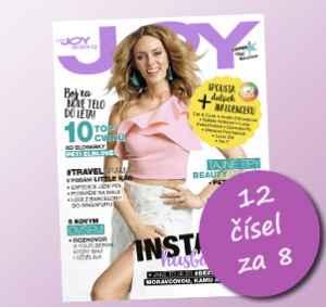 JOY1805_12 (319,-/12 čísel) - dárek k předplatnému časopisu Joy