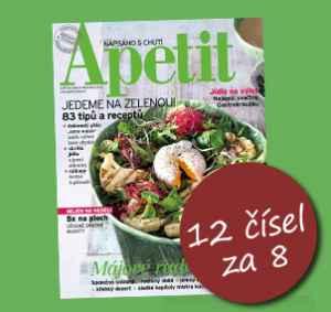 AP1805_12 (479,-/12 čísel) - dárek k předplatnému časopisu Apetit
