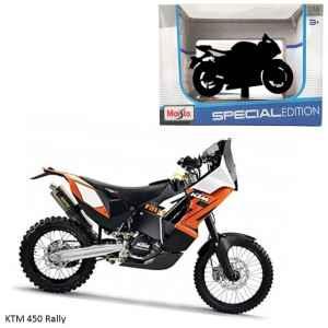 Model KTM 450 Rally - dárek k předplatnému časopisu Motocykl