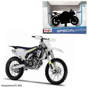 Model Husqvarna FC 450 - dárek k předplatnému časopisu Motocykl