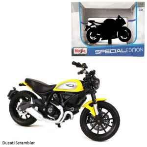 Model Ducati Scrambler - dárek k předplatnému časopisu Motocykl