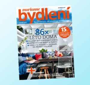 BD1806_11 (478,-/11 čísel) - dárek k předplatnému časopisu Marianne Bydlení