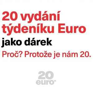 20 vydání ZDARMA - dárek k předplatnému časopisu EURO