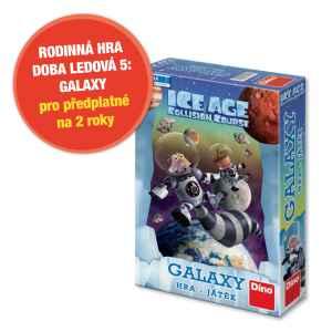 Hra Doba Ledová 5-GALAXY - dárek k předplatnému časopisu Pastelka