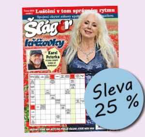 SLA1806 (179,-/12 čísel) - dárek k předplatnému časopisu Křížovky se Šlágr TV