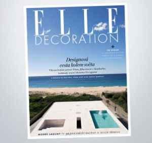 ED1802 (399,-/4 čísla) - dárek k předplatnému časopisu Elle Decoration