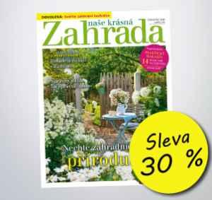 NKZ1807 (459,-/12 čísel) - dárek k předplatnému časopisu Naše krásná zahrada