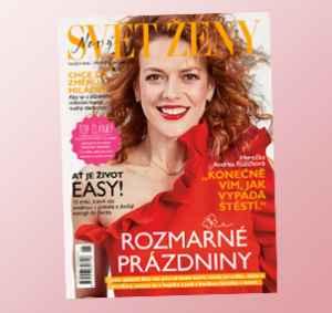 SZ1807_12 (299,-/12 čísel) - dárek k předplatnému časopisu Svět ženy