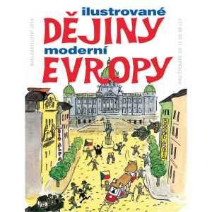 Ilustrované dějiny Evropy - dárek k předplatnému časopisu XANTYPA