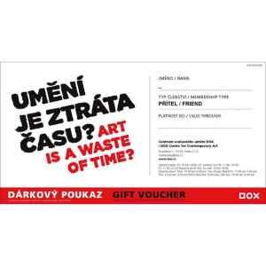 DOX v hodnotě 1200 Kč - dárek k předplatnému časopisu XANTYPA