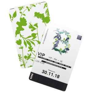 10 vstupů do Botanické zahr. - dárek k předplatnému časopisu XANTYPA