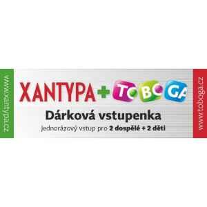 Rodinná vstupenka Toboga - dárek k předplatnému časopisu XANTYPA