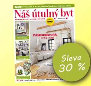 NUB1808_S (249,-/12 čísel) - dárek k předplatnému časopisu Náš útulný byt