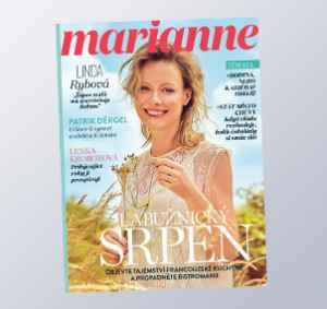 MR1808_12 (559,-/12 čísel) - dárek k předplatnému časopisu Marianne