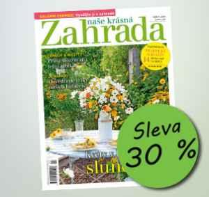 NKZ1808_12 (459,-/12 čísel) - dárek k předplatnému časopisu Naše krásná zahrada