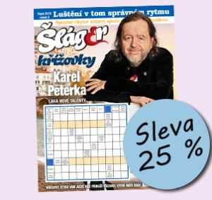 SLA1808 (179,-/12 čísel) - dárek k předplatnému časopisu Křížovky se Šlágr TV