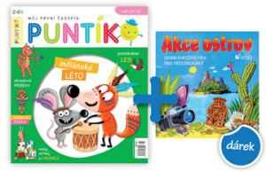Hra AKCE OSTROV - dárek k předplatnému časopisu Puntík