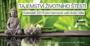 Kalendář na rok 2019 - dárek k předplatnému časopisu Bylinky revue