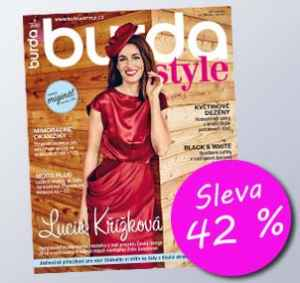 BUR18DM (936,-/12 čísel) - dárek k předplatnému časopisu Burda