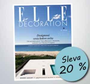 ED18DM (383,-/4 čísla) - dárek k předplatnému časopisu Elle Decoration