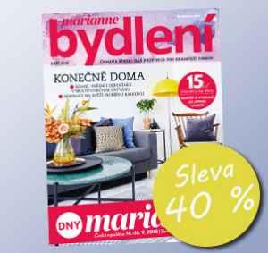 BD18DM (428,-/11 čísel) - dárek k předplatnému časopisu Marianne Bydlení