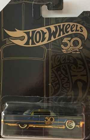 Auto Hot Wheels 64 Impala - dárek k předplatnému časopisu Hot Wheels