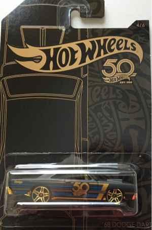 Auto Hot Wheels Dodge Dart - dárek k předplatnému časopisu Hot Wheels