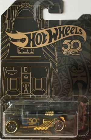 Auto Hot Wheels Bone Shaker - dárek k předplatnému časopisu Hot Wheels