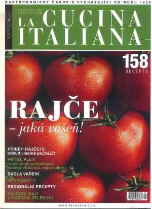 Speciál Rajče - dárek k předplatnému časopisu La Cucina Italiana