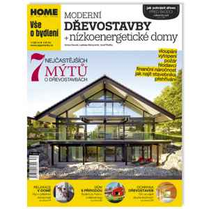 Moderní dřevostavby - dárek k předplatnému časopisu HOME