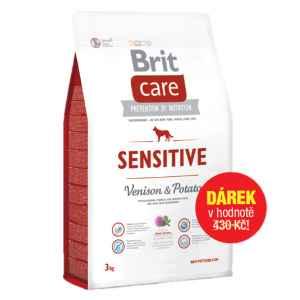 Krmivo Brit Care 3 Kg - dárek k předplatnému časopisu Recepty prima nápadů