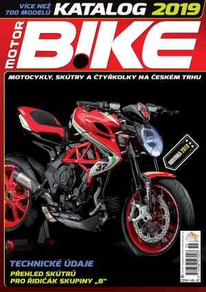 Katalog 2019 - dárek k předplatnému časopisu MotorBike