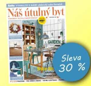 NUB1810 (249,-/12 čísel) - dárek k předplatnému časopisu Náš útulný byt