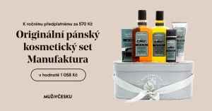 Balíček Manufaktura MEN - dárek k předplatnému časopisu Muži v Česku