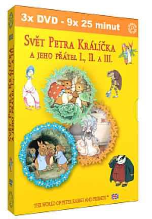 Svět Petra Králíčka a přátel - dárek k předplatnému časopisu Retro