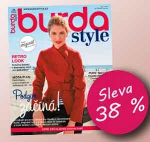 BUR1810 (999,-/12 čísel) - dárek k předplatnému časopisu Burda