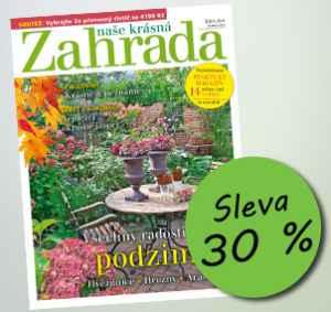 NKZ1810_S (459,-/12 čísel) - dárek k předplatnému časopisu Naše krásná zahrada