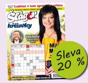 SLA1810_P (96,-/6 čísel) - dárek k předplatnému časopisu Křížovky se Šlágr TV