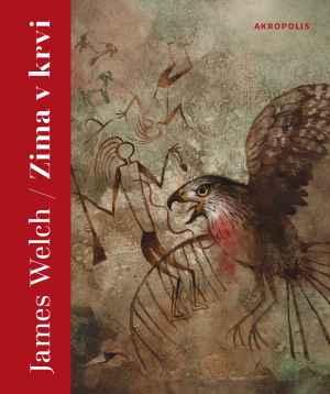 Kniha Zima v krvi - dárek k předplatnému časopisu XANTYPA