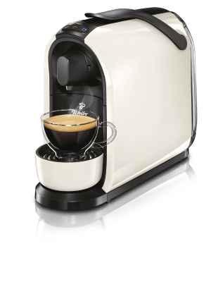 Kávovar Tchibo - bílý - dárek k předplatnému časopisu ESQUIRE